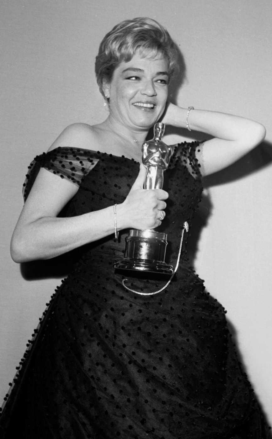 Simone Signoret ganó el Oscar por 'Un lugar en la cumbre'