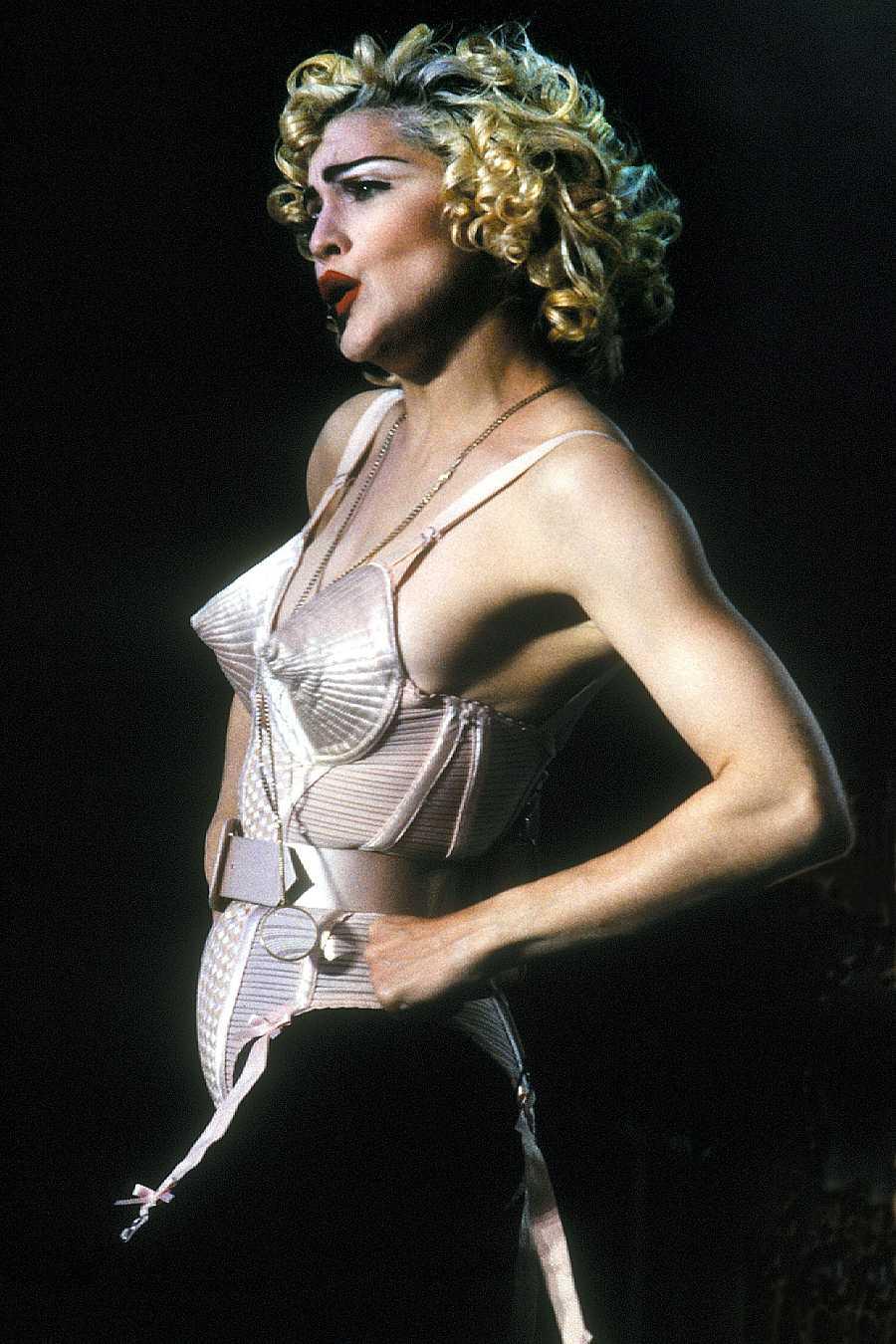 Madonna y el corsé más famoso de Jean Paul Gaultier