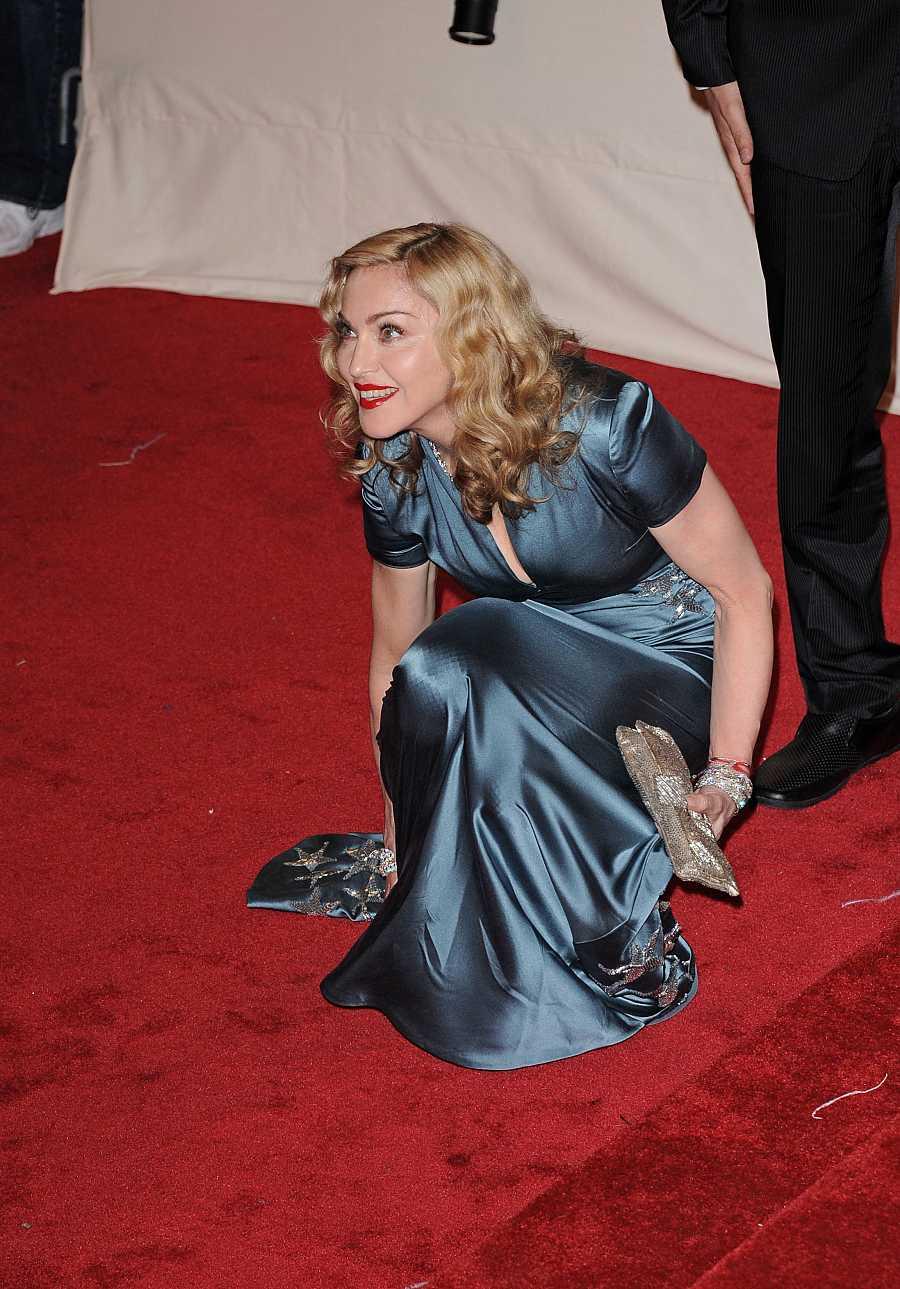 Madonna en la gala del MET del año 2011