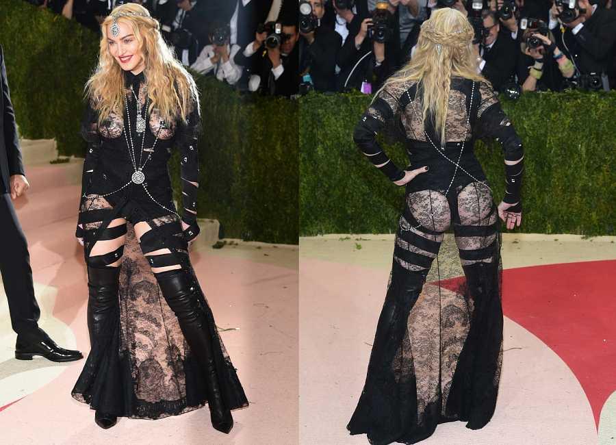Madonna en la gala del MET 2016, con un polémico vestido de Givenchy