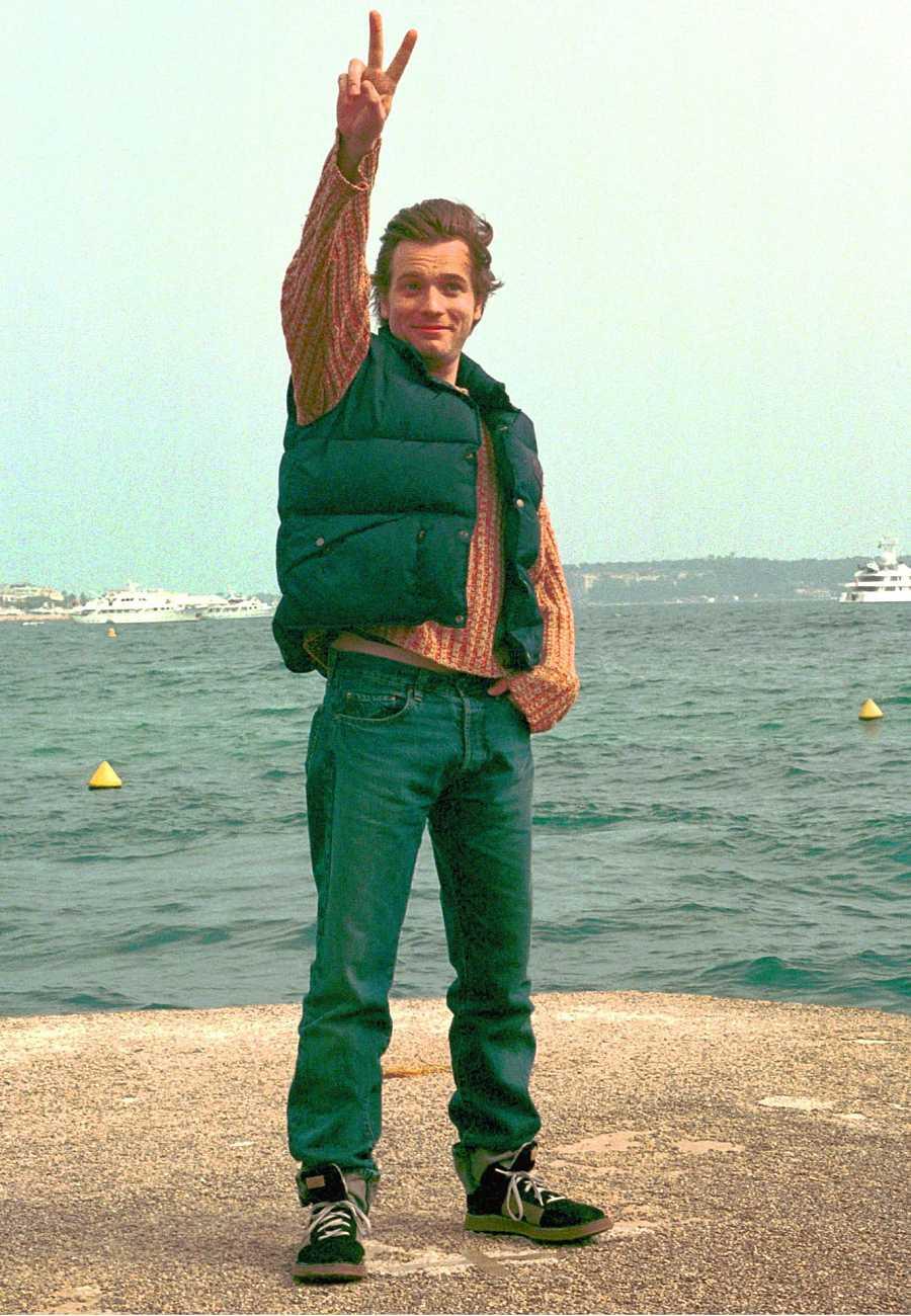 Ewan McGregor en Cannes en el año 1999.