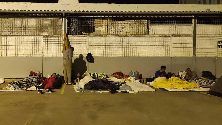 Personas migrantes en situación de calle