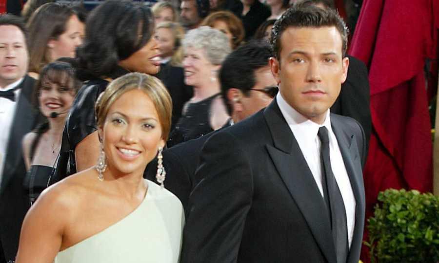 Jennifer López junto a Ben Affleck