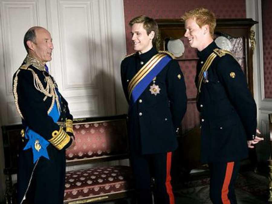 Mark Penfold quien dio vida al personaje en la serie de televisión William y Catherine, a royal romance
