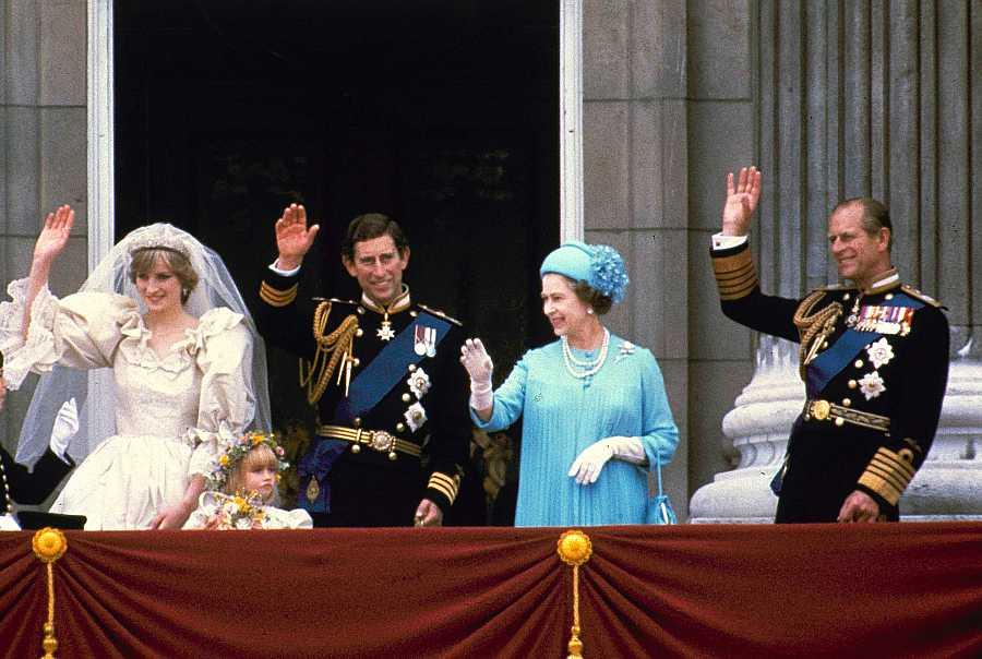 Boda del Príncipe Carlos de Inglaterra y Diana de Gales