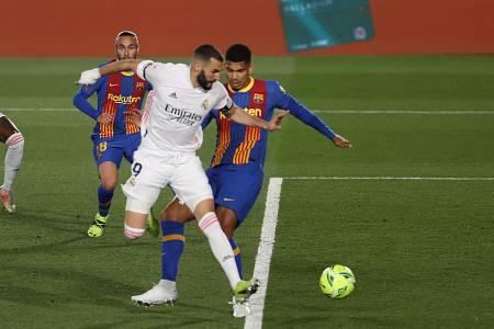 Así fue el gol de Benzema al FC Barcelona