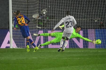 Así fue el gol de Óscar Mingueza ante el Real Madrid