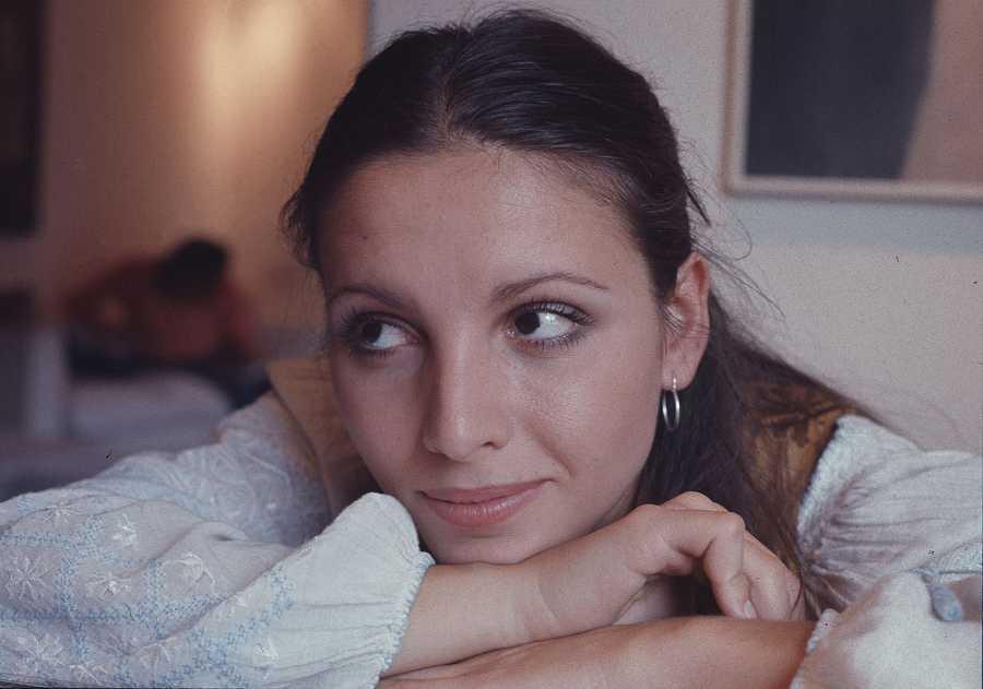 La niña María Pilar Cuesta que se convirtió en Ana Belen