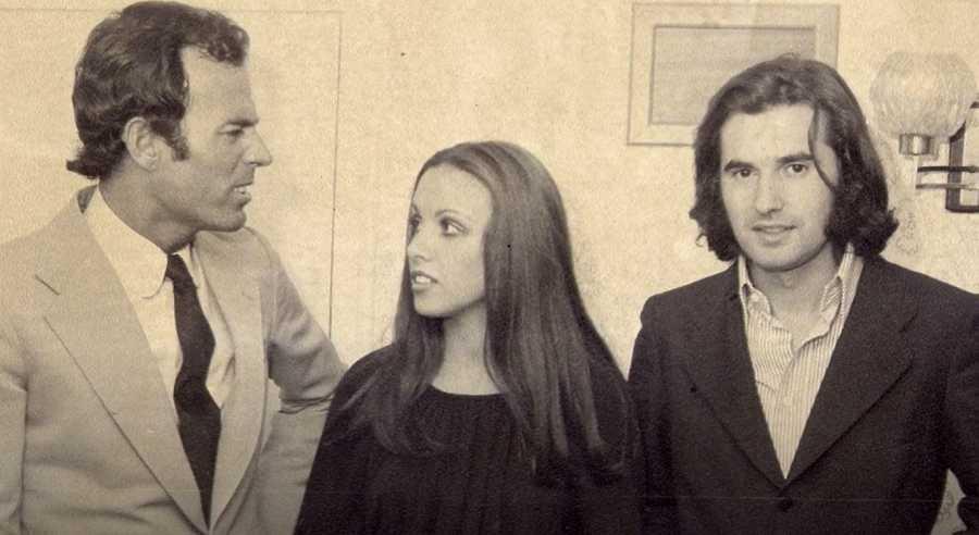 Julio Iglesias, Ana Belén y Victor Manuel en su primer encuentro
