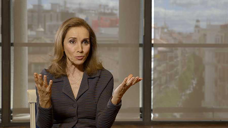 Ana Belén, durante las entrevisats de documental