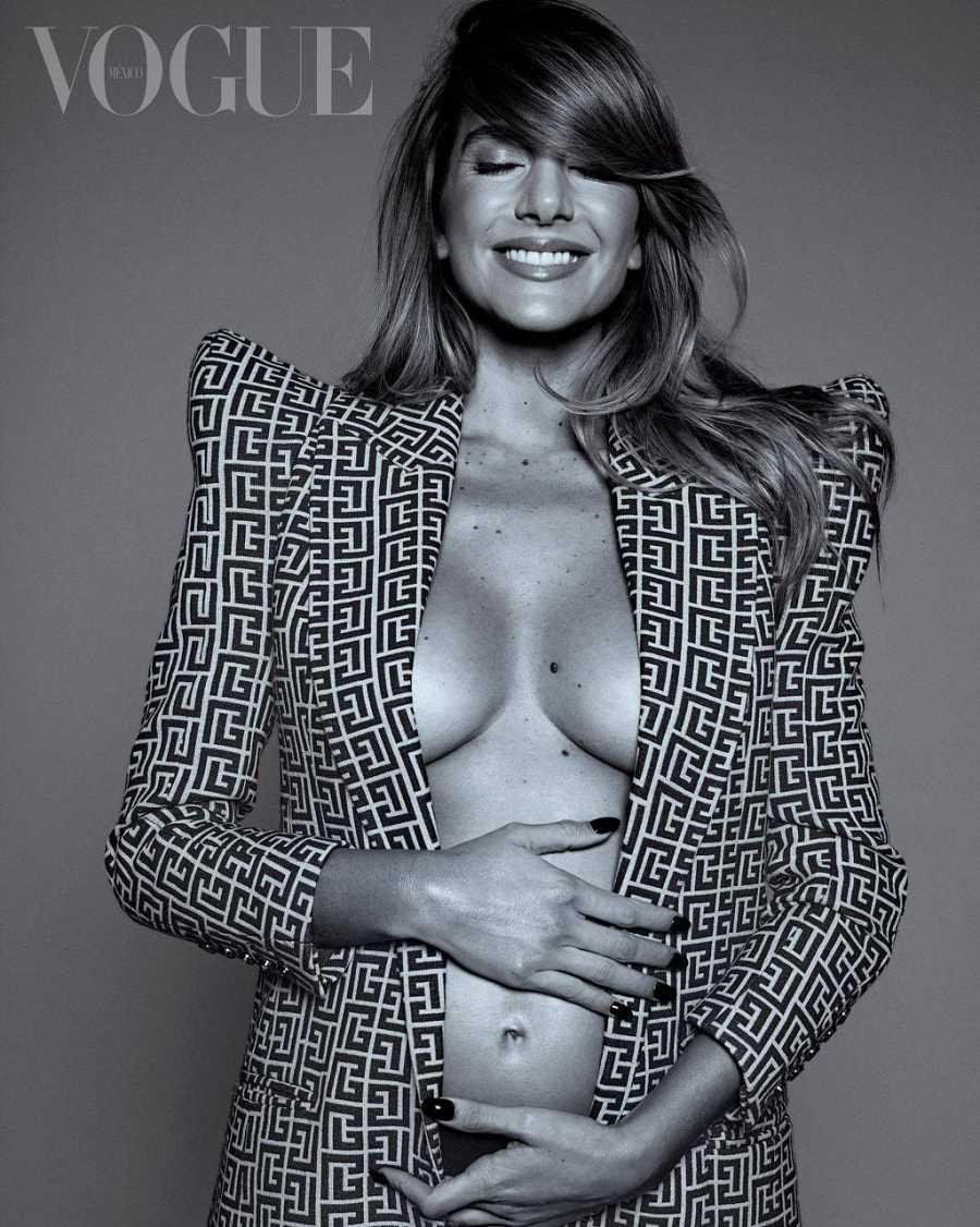 Valentina Ferrer, feliz por ser mamá