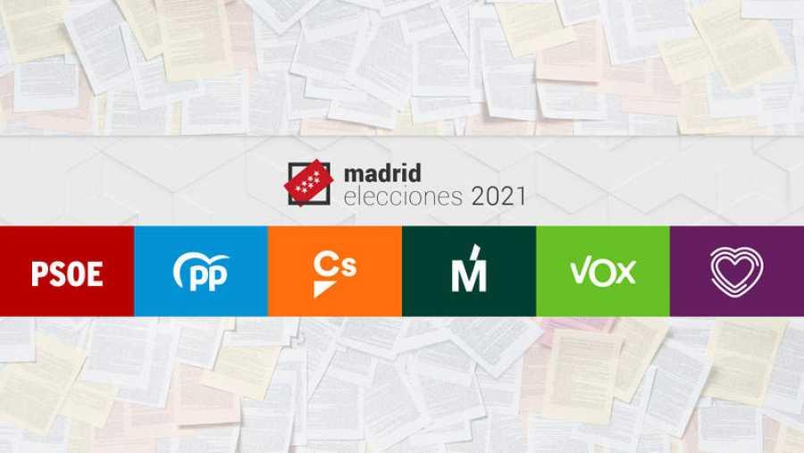 Elecciones Madrid 4M: Compara los programas electorales de los principales partidos.