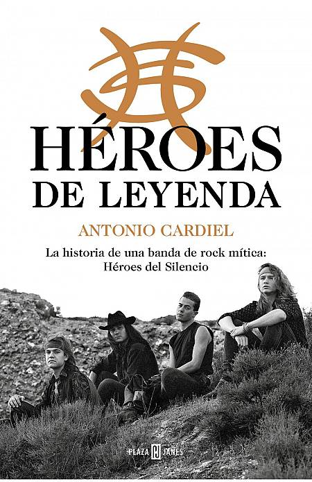 Portada del libro 'Héroes de leyenda', de Antonio Cardiel