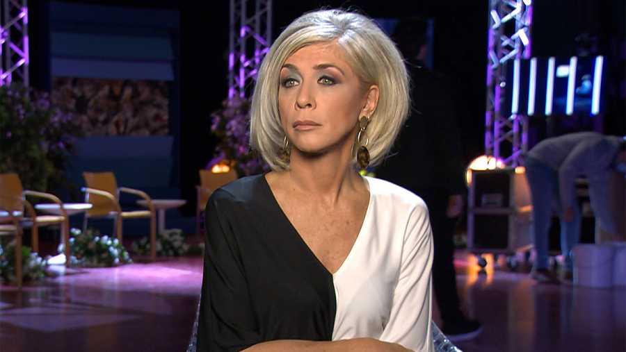 La actriz Eva Isanta en el documental '1990. La victoria definitiva'