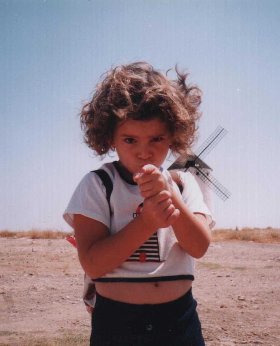Ana Iris Simón en Campo de Criptana