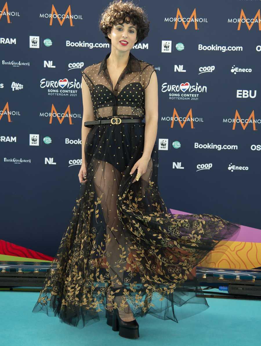 Barbara Pravi en Eurovisión 2021