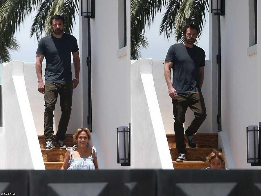 Ben Afflec y JLo en Miami