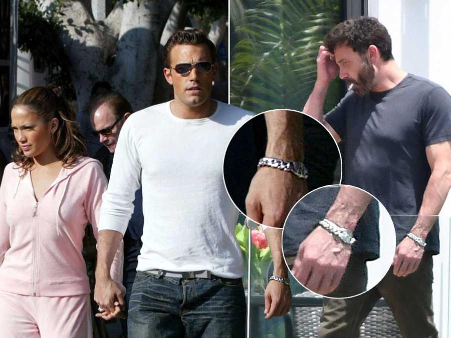 El reloj de Ben Affleck, un regalo de JLo