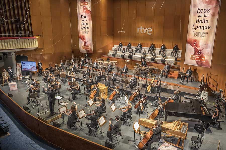 Concierto de la Orquesta y Coro RTVE en la presentación de la temporada 2021/2022