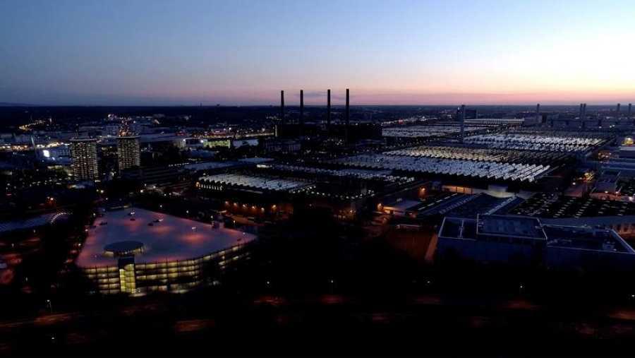 Planta principal de Volkswagen en Wolfsburg
