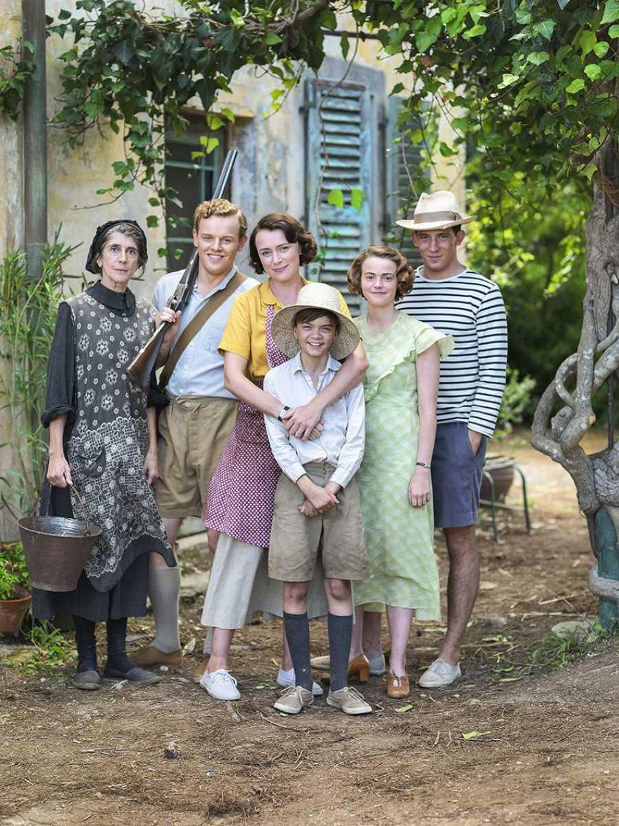 La familia Durrell al completo en 'Los Durrell'