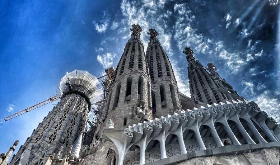 Contrapicat de la Sagrada Família