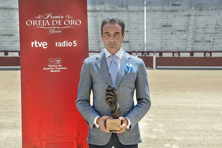 Enrique Ponce, Oreja de Oro Especial 2020 de RNE, en Las Ventas