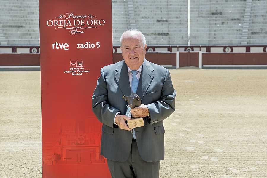 Victoriano del Río, Hierro de Oro 2020 de RNE, en el ruedo de Las Ventas