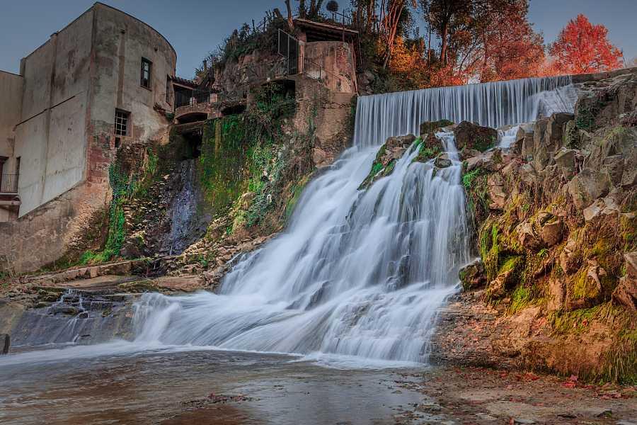 Salto del MolinoFondo en Sant Joan Les Fonts