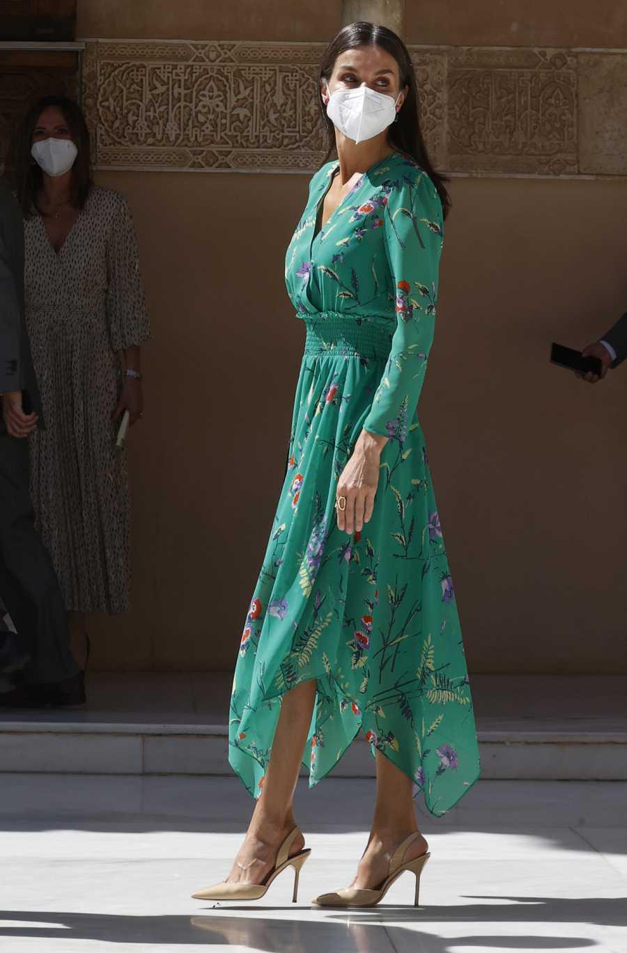 La reina Letizia en la Alhambra