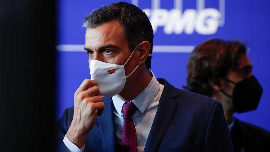 El president del Govern, Pedro Sánchez, en la clausura de les jornades del Cercle d'Economia