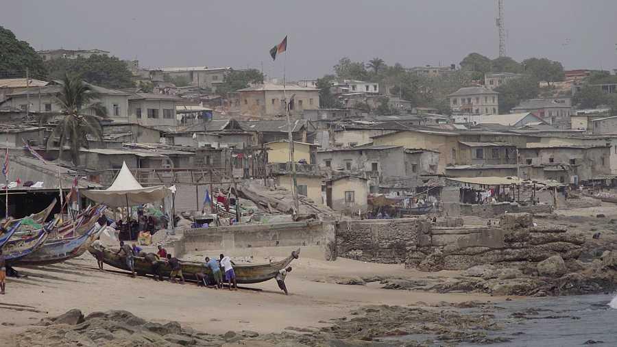 Imagen de 'Españoles...' en Ghana