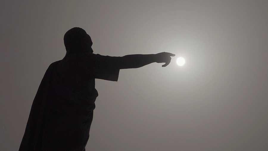 El monumento a Kwane Nkrumah, líder de la Ghana independiente.