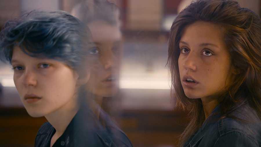 Escena de 'La vida de Adèle' (2013)