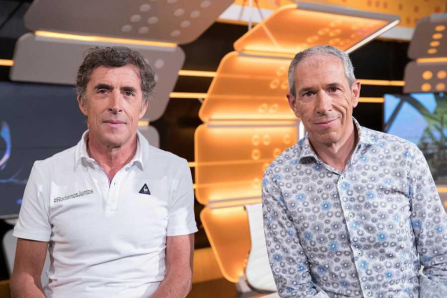 Pedro Delgado y Carlos de Andrés