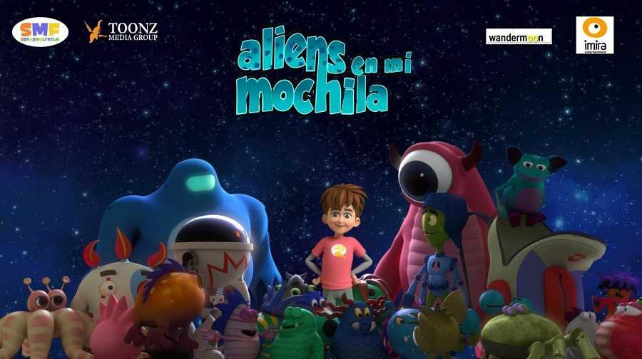 'Aliens en mi mochila'