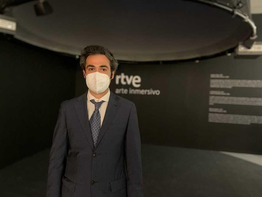José Delgado, director de ARAN Art Network en ARCO 2021.