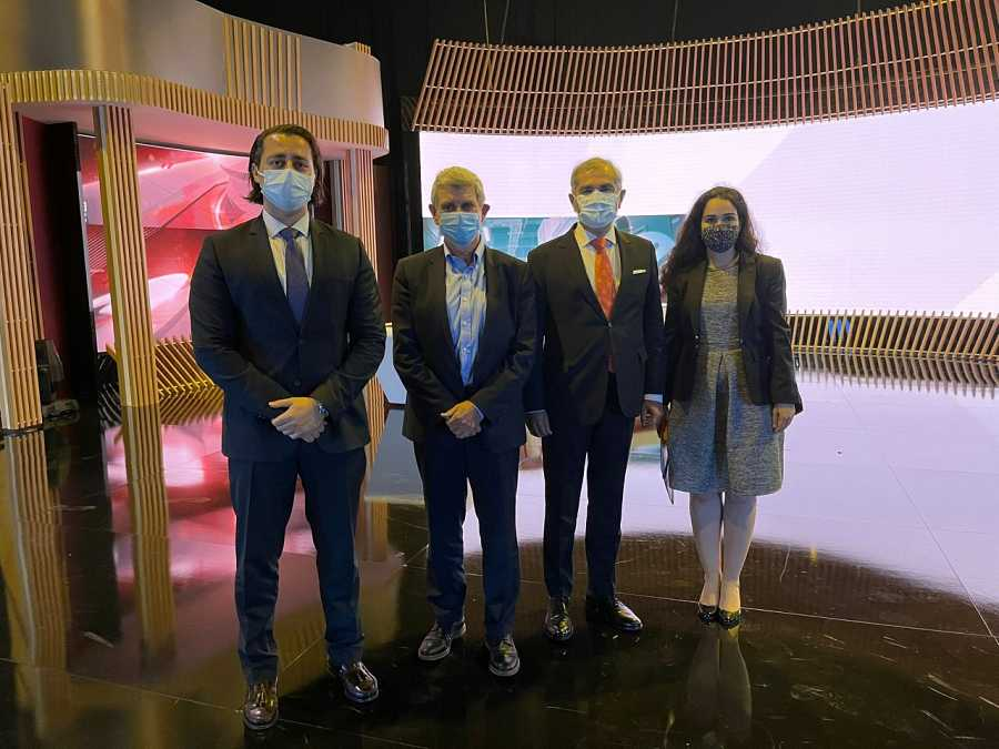 Visita embajador de Turquía a RTVE