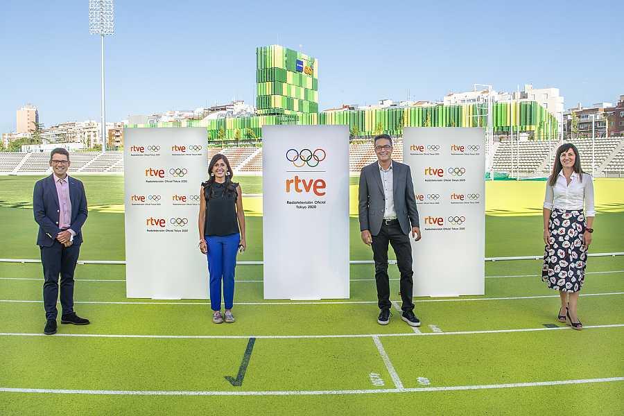 Arsenio Cañada, Lourdes García Campos, Marcos López y Rosana Romero.