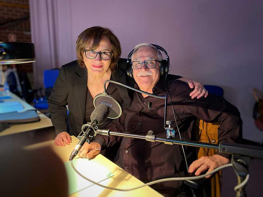 Elisenda Roca y Juanjo Cardenal