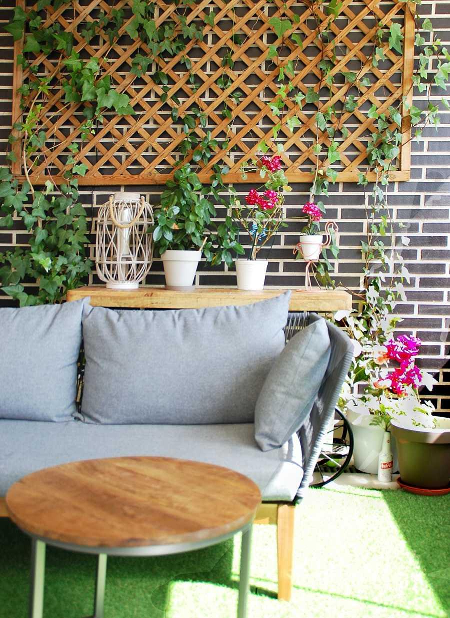 No importa el tamaño de la terraza para poder disfrutar de un espacio agradable y acogedor