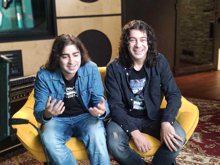 Raúl y Javi Cantero, hijos de El Fary