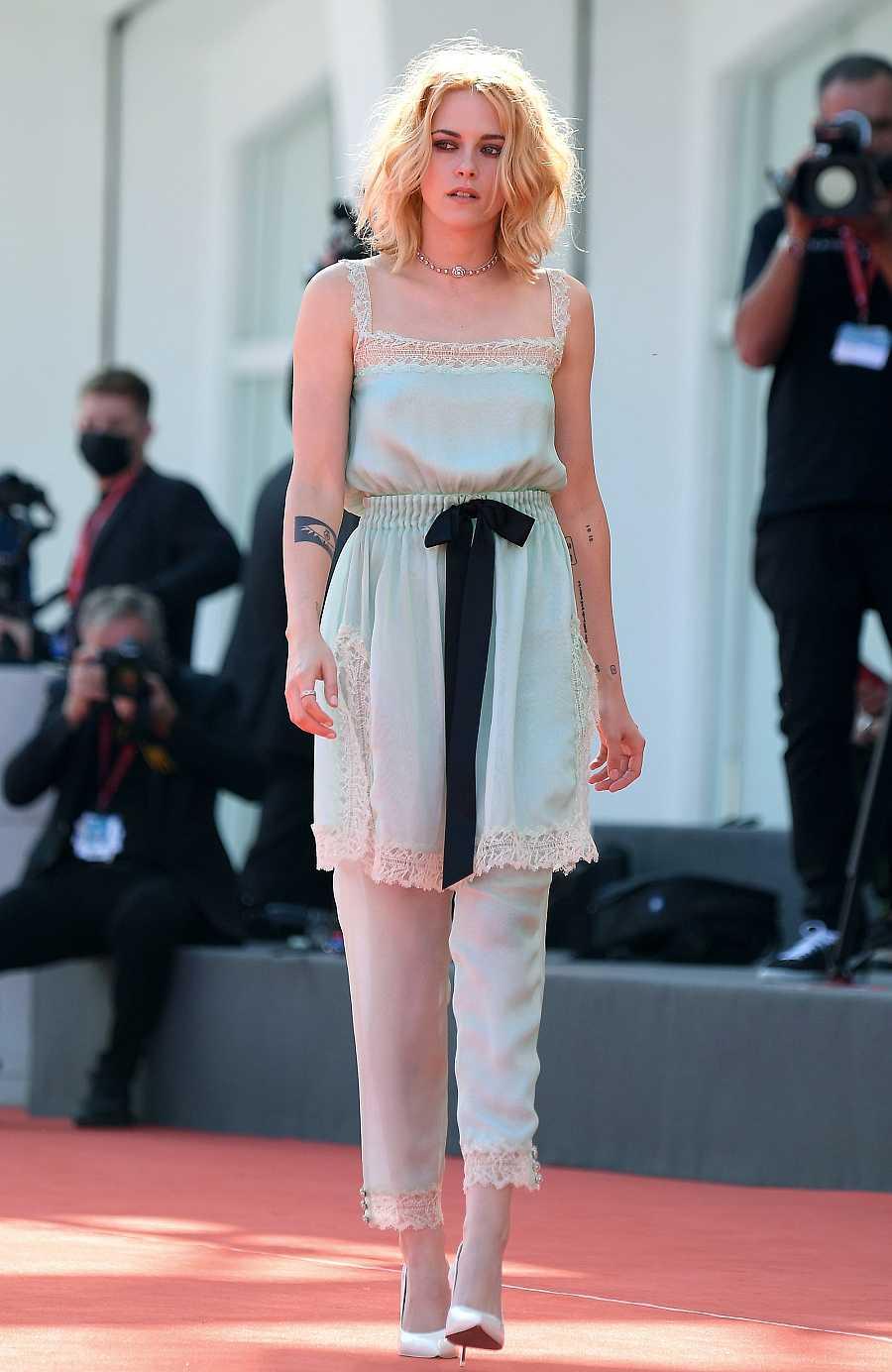 Kristen Stewart en la premiere de 'Spencer' en la Mostra de Venecia