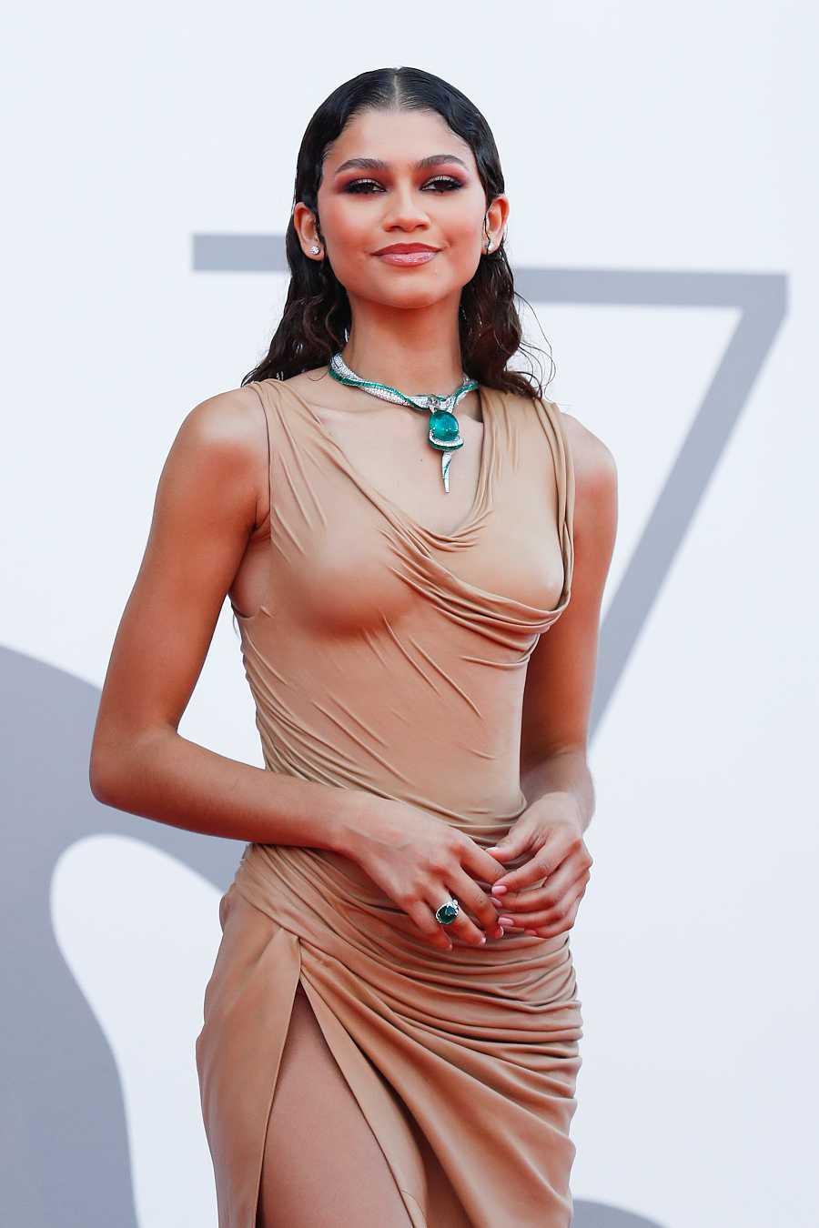 Zendaya en la premiere de 'Dune' en Venecia