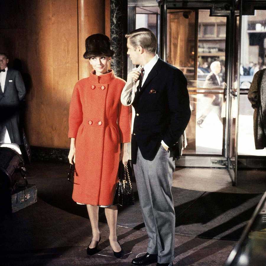 Aunque en la pantalla tienen una química envidiable, Audrey y George no se llevaban bien