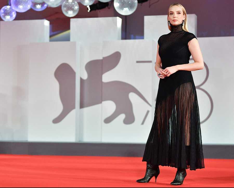 Jodie Comer en la premiere de 'The Last Duel'