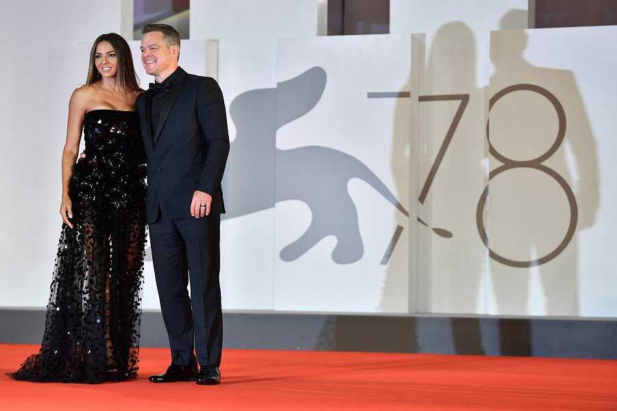 Matt Damon en el Festival de Venecia