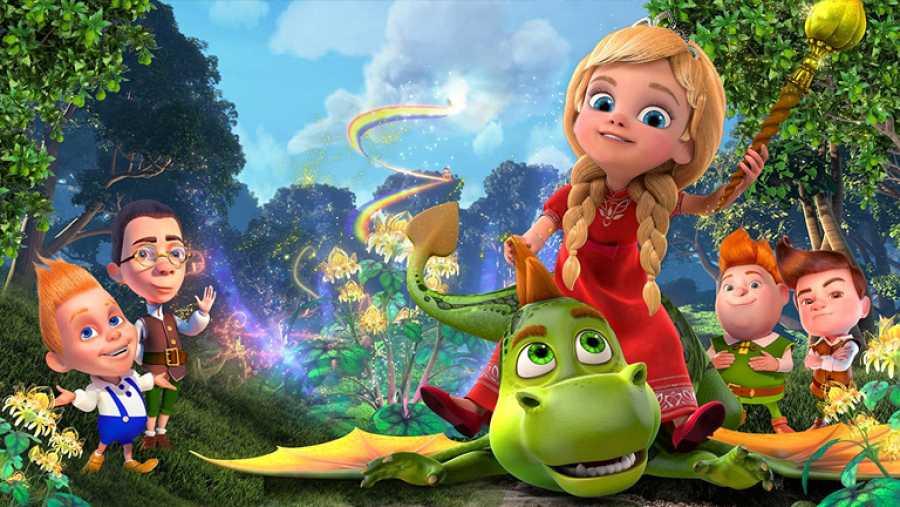 Cine Clan - Fotograma de la película 'La princesa y su dragón. Una historia interminable'