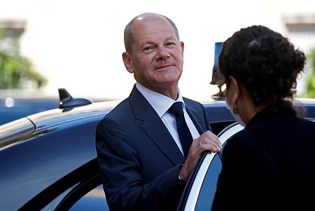 El candidato socialdemócrata Olaf Scholz