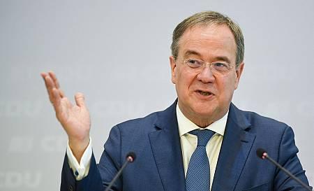 El candidato conservador Armin Laschet
